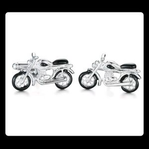 Other - Stainless Steel Motorcycle Cufflinks